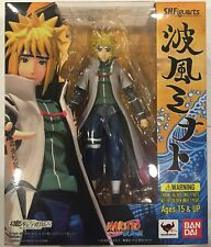 Bandai Naruto Uzumaki Namikaze Minato S.H. Figuarts Action Figure US Seller USA