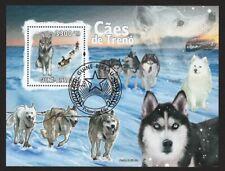 Siberian Husky, Samoyed * Sled Dog Postage Stamp Art Collection * Gift Idea*