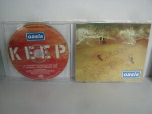 CD MUSIC SINGLE OASIS ALL AROUND THE WORLD 1593