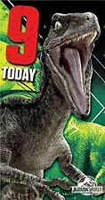 Monde du Jurassique You're 9/9 ans / 9th Anniversaire Dinosaures T-REX