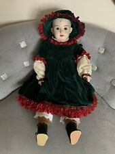 Armand Marseille Doll Am Dep 1894 9 Made in Germany Bisque 23' Jointed Dress Hat
