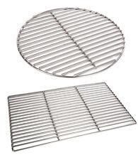 Grillrost Edelstahl rechteckig/rund 6 mm 8 mm 67/40 50/35 34,5 37 54 60 80 cm