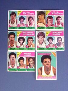 1975-76 Topps Basketball #222 Moses Malone Bobby Jones Gilmore MINT - FLASH SALE