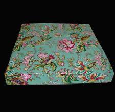 lf338t Fuschia Pink Brown Yellow High Quality Cotton Canvas 3D Box Cushion Cover