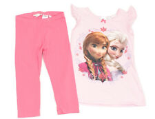 H&M DISNEY T-Shirt Anna&Elsa und Leggings - 134