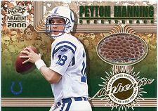 Peyton Manning 2000 Pacific Paramount Game-Used Football Colts Volunteers