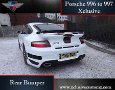 Porsche 911 996 to 997 Xclusive Rear Bumper Conversion
