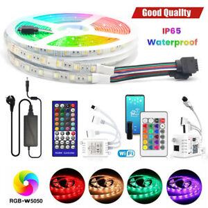 24V LED Stripe Streifen RGB RGBW Wassedicht 5050 WIFI Musik APP Control Dimmbar