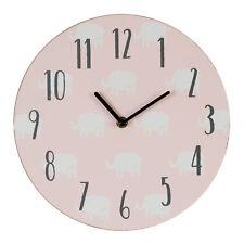 Petit Cheri Design Éléphant MDF Chambre à Coucher 17cm Horloge - Neuf Fille