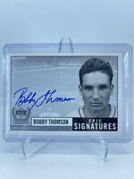 1999 Upper Deck Century Legends Epic Signatures Bobby Thompson BT