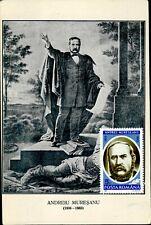 IMR00614 romania andreiu muresanu poet famous people fund rising postcard 1923