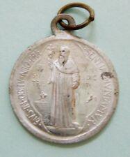 Vintage St Benedict Medal Aluminium e