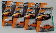 '70 DATSUN 510 RALLY * LOT OF 4 * 2017 MATCHBOX * DISC WHEEL VARIATION NISSAN