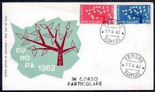EUROPA CEPT FDC 1962 ITALIE 2