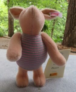 Steiff Piglet Classic Winnie the Pooh Collection 2002