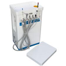 Portable Dental Delivery Treatment Cart Unit Equipment Mobile Amp Compressor 4hole