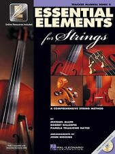 Essential Elements 2000 for Strings Book 2 Teacher's Manual Book and C 000868056
