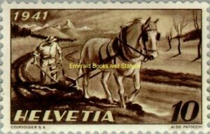 EBS Switzerland Helvetia 1941 Farming - Nationales Anbauwerk - Michel 386 MNH**