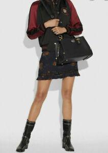 COACH Exotic Mason Carryall Satchel, Handbag, Shoulder Bag, Purse NWT $695 Black