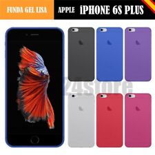 Funda gel lisa Apple IPHONE 6S PLUS 5.5""