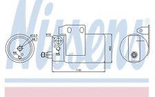 NISSENS Filtro deshidratante, aire acondicionado OPEL ASTRA ZAFIRA 95185