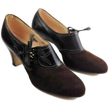 1920s 30s Old Stock Vintage Brown Star Brand Shoes