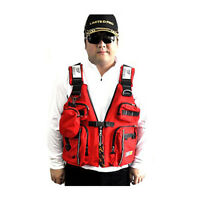 Safety Adult Sailing Swimwear Fishing Kayak Canoeing Life Jacket Vest Preservers