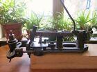 vintage Saw Set Disston or Gottman antique Trip Hammer Bench mount Machine