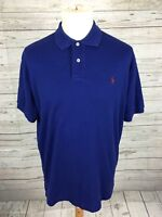 Men's Ralph Lauren Polo Shirt - Medium - Blue - Great Condition