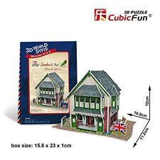 """CubicFun 3D Puzzle Traditional British """"Sandwhich"""" Shop  3D World Style 36 PCS"""
