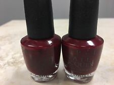 2 x OPI GOT THE BLUES FOR RED (NL W52)