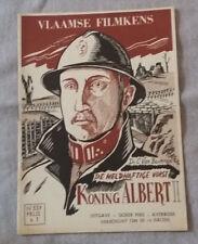 Vlaamse Filmkens N°334 De Heldhaftige vorst Koning Albert I Averbode