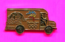 2000 SYDNEY OLYMPIC UPS TRUCK PIN BROWN PACKAGE TRUCK PIN RARE CLOISONNE PIN