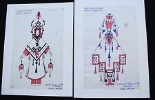 2 ORIGINAL COSTUME DRAWINGS  FOLIES BERGÈRE Gyarmathy - lot 6