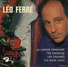 LEO FERRE LA LANGUE FRANCAISE FRENCH ORIG EP