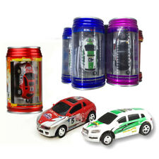 RC Car In a Can Radio Remote Control Race Mini Racer Kids toy Xmas Truggy Gifts