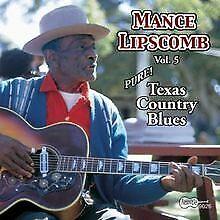 Texas Country Blues von Mance Lipscomb   CD   Zustand sehr gut