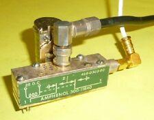 Koaxrelais, Antennenrelais Amphenol Spule 24 - 28 Volt DC