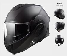 LS2 Casque Modulable de Moto avec Pare-Soleil FF399 Valiant Noir Mat L 59/60