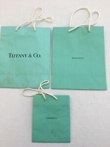 Three Tiffany Paper Gift Bags