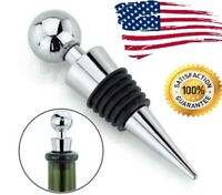 Stainless Steel Reusable Sealed Champagne Red Wine Bottle Stopper Cap New Seal