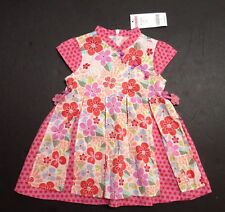 NWT Gymboree Tea Garden 12-18 Months Asian Flower Apron Dress