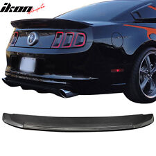 10-14 Ford Mustang GT500 Style Trunk Spoiler Wing - Carbon Fiber CF
