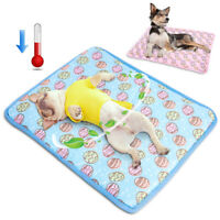 Indoor Summer Cat Dog Self-Cooling Mat Hot Weather Puppy Sleeping Bed Chihuahua