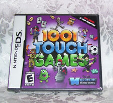 1001 TOUCH GAMES NINTENDO DS NDS 1001 GAMES BRAND NEW FACTORY SEALED BOX 2004