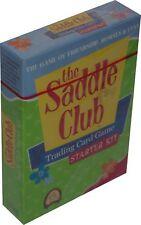 THE SADDLE CLUB - Trading Card Game Starter Kit (Kryptx) #NEW