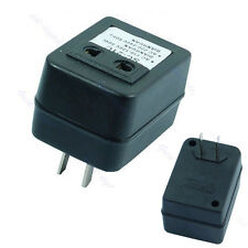 Newest Step Up Voltage Converter Adapter 110V US to 220V US EU Black 1 Pc