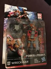 Transformers Power of the Primes Deluxe Class Wreck Gar Walgreens Exclusive USA