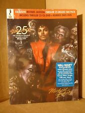 NIB SEALED- Michael Jackson Thriller 25 CD + DVD Number Ones Deluxe Fan Pack