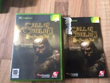 Xbox :    CALL OF CTHULHU        PAL FR
